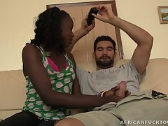 Hot African Escort Lira Takes One Helluva Facial!