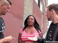 These White Guys Love Curvaceous Black Babes 1