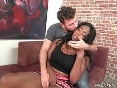 Black Babe Wants To Fuck With White Super Stud 2